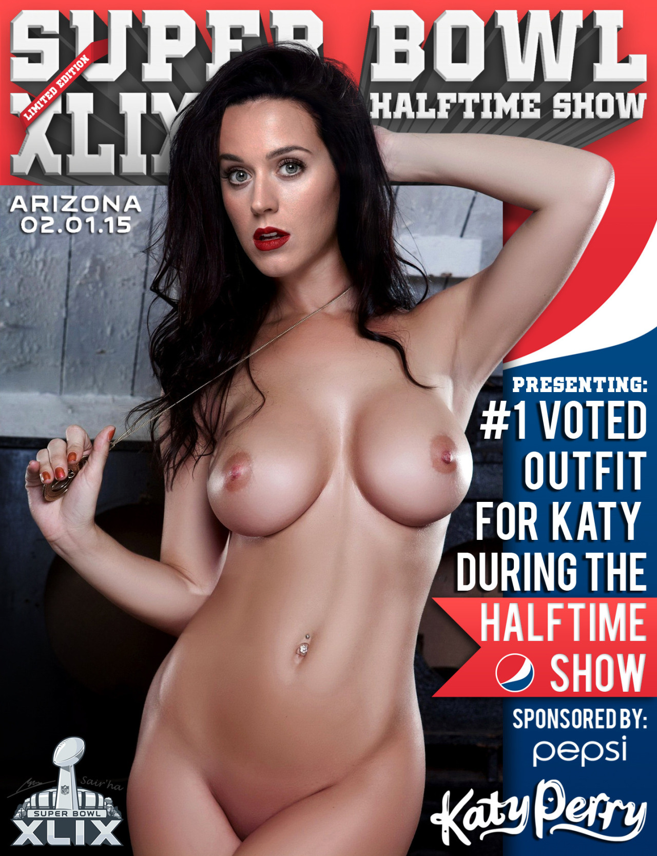 Katy perry fake nude